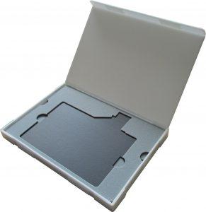 エフセル サンぺルカ C式箱 積層品トレー ガラス入 熱罫線加工