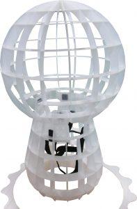 ゆるキャラ 第四弾 プラダン ベルト付 骨組み 構造 コラボ