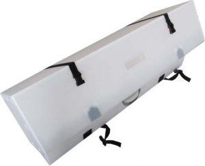 大型プラダン 緩衝材付き めじっくテープ開閉 ベルト付 取手付