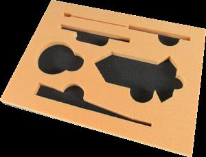 緩衝材積層トレー サンぺルカ 工具入れ サンプルカッター