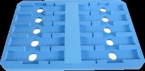 緩衝材積層トレー 兼用で使用 仕切で間口調整可能 サンぺルカ
