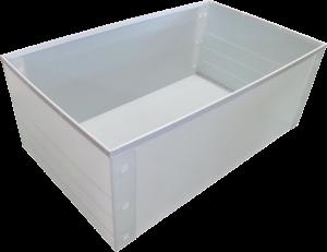プラダン箱 大型 折り畳み可能 フレーム付