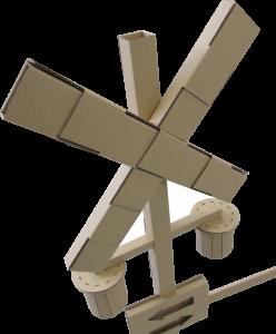 踏切 模型 ダンボール 組立式 長岡はなび館 道の駅 ダンボール踏切 展示用